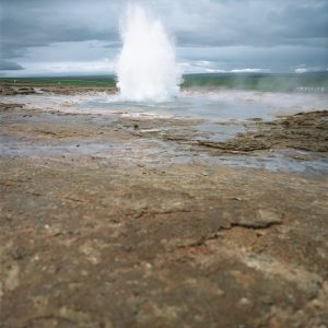 A geyser spewing water --- Image by © Royalty-Free/Corbis